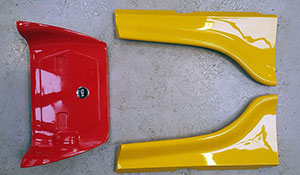 TIGA FF1600 Body Panels